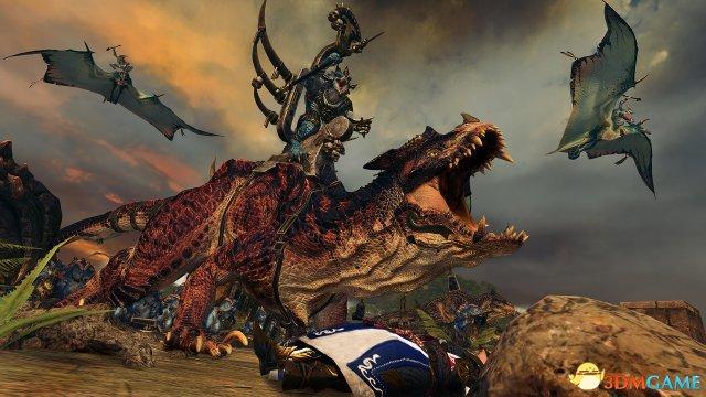 《全面战争:战锤2》全新演示视频 蜥蜴人大军来袭