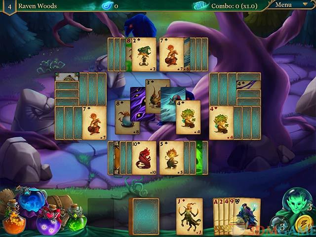 魔法纸牌2:生命之泉 游戏截图