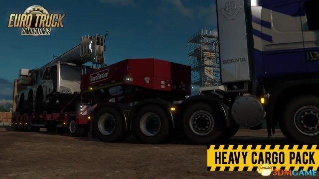 """《欧洲卡车模拟2》发布""""重装货物""""DLC 新宣传视频"""
