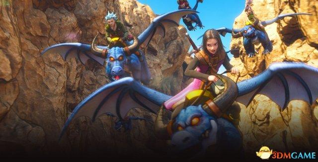 《勇者斗恶龙11》游戏截图欣赏 展示怪物骑乘系统