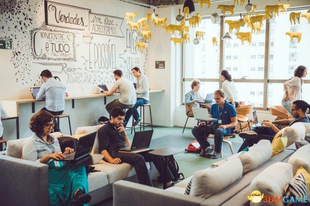 与你的想象有何不同?外媒推选世界巨头办公室风景