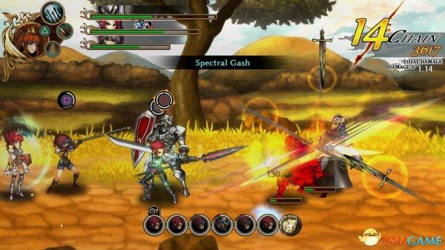 横版RPG《堕落军团》新截图 7月25日登陆PSV/PS4