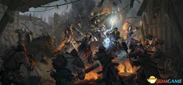 桌游RPG新作《开拓者:拥王者》公布  内容丰富