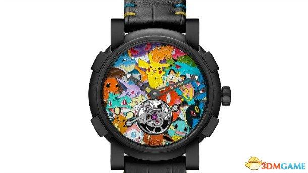 精灵宝可梦:我们也做高端机械表!售价RMB180W哟!