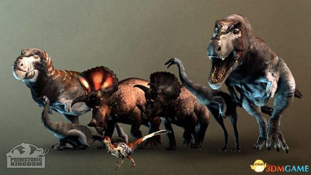 <b>打造恐龙公园!《史前王国》在Steam绿光展开投票</b>