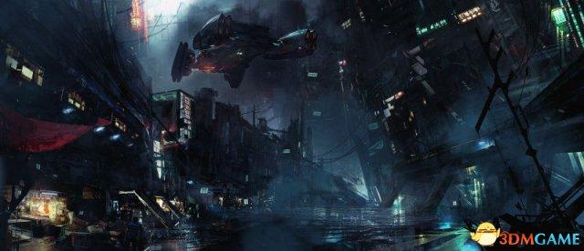 国外艺术画家游戏概念画欣赏 充满科幻写实色彩!