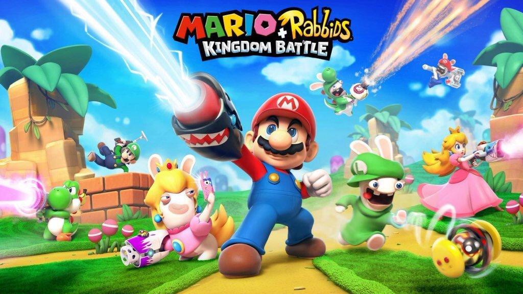 马里奥和疯狂兔子:王国大战 游戏截图