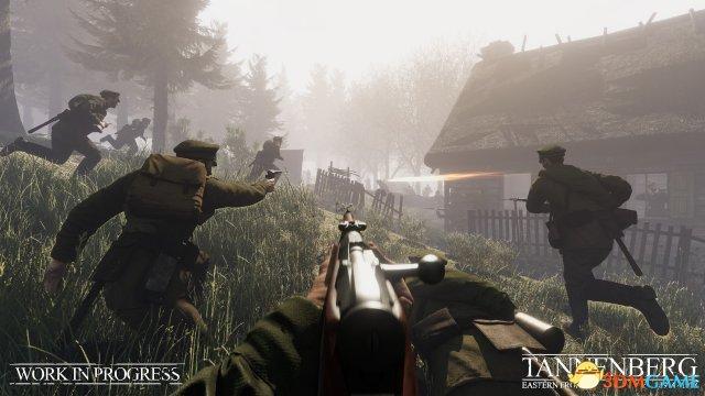 一战射击新作《坦能堡》曝光 德军与战斗民族交锋