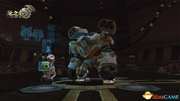 《龙之谷》新版本机甲狂潮开启 银色机甲师邀你来
