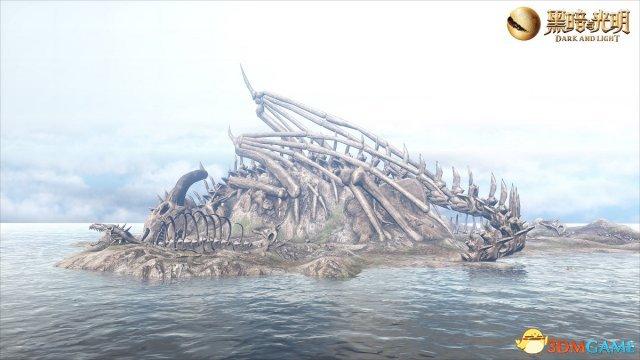 《黑暗与光明》深海历险记 探索埋骨岛