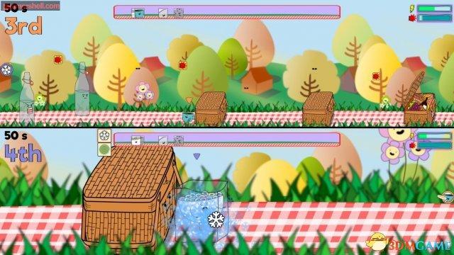 互怼竞速游戏《早早用餐》公布预告片与游戏截图