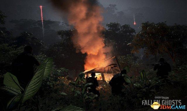 """《幽灵行动:荒野》第二个扩展包""""Fallen Ghosts"""""""