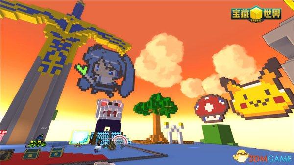玩家的名义!全沙盒网游《宝藏世界》6月将开二测