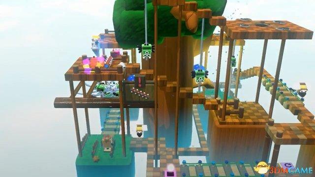 眾籌新作《方塊兔子》致敬任天堂WiiU《蘑菇队长》