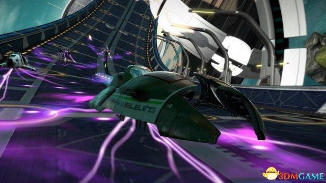 明日发售  《反重力赛车2048》 最新游戏截图