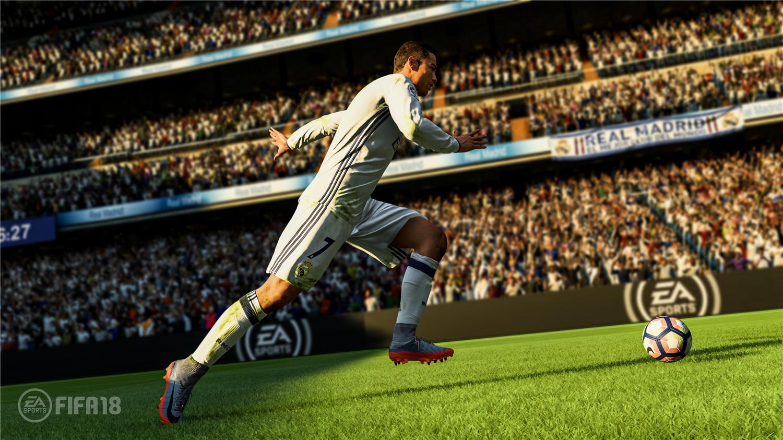 FIFA 18 游戏截图