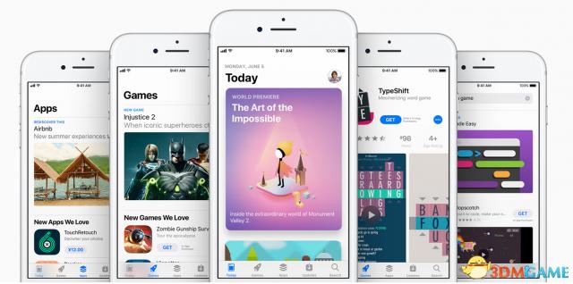 苹果开发者大会App商店重大变革:游戏 应用分离