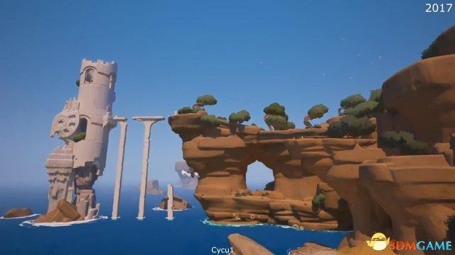 《RiME》 2013年预告视频与PS4 Pro游戏画质对比