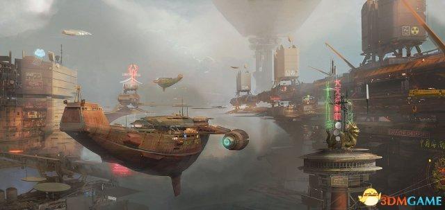 E3:《超越善恶2》酷炫原画曝光 中国风亮瞎众人
