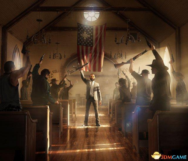 E3:育碧大作《孤岛惊魂5》最新截图 美国乡村大战