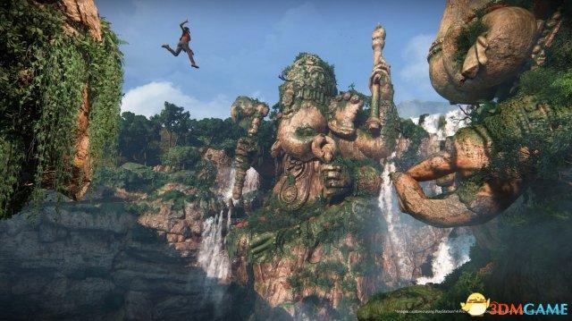 <b>E3:《神秘海域:失落遗产》截图 两位美女战力强</b>