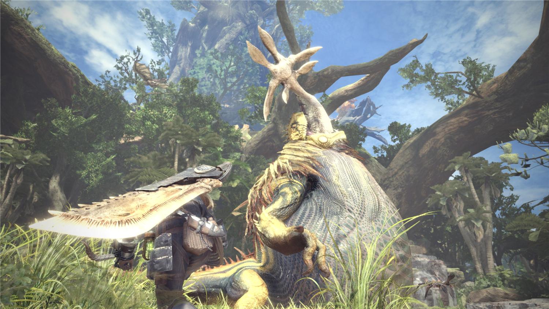 娱乐资讯_怪物猎人:世界 游戏截图截图_怪物猎人:世界 游戏截图壁纸 ...