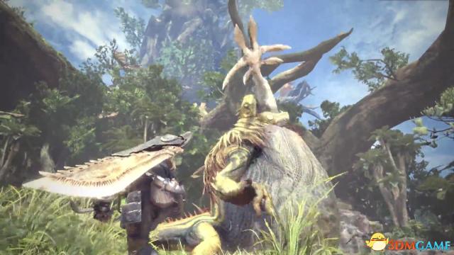 怪物獵人世界完整演示視頻 怪獵世界未展示試玩畫面