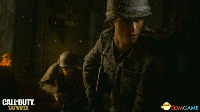 E3:《使命召唤14:二战》新图 勇猛战士浴血战场