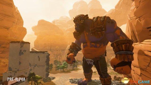 E3:猎杀巨型食人魔 Iron Galaxy新作 《灭绝》 演示