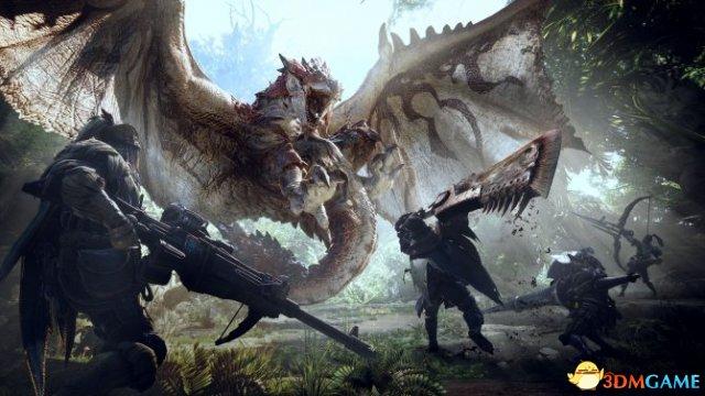 E3:《怪物猎人:世界》情报 可离线进行单人游戏