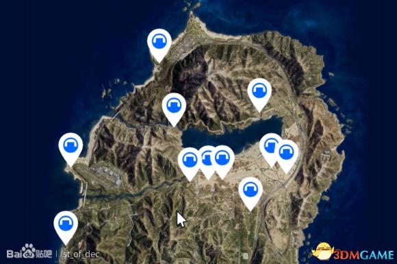 GTA5军火贸易地堡位置一览 GTAOL军火DLC地堡在哪里