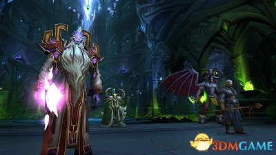 《魔兽世界》7.2.5版本上线 全员备战萨格拉斯之墓