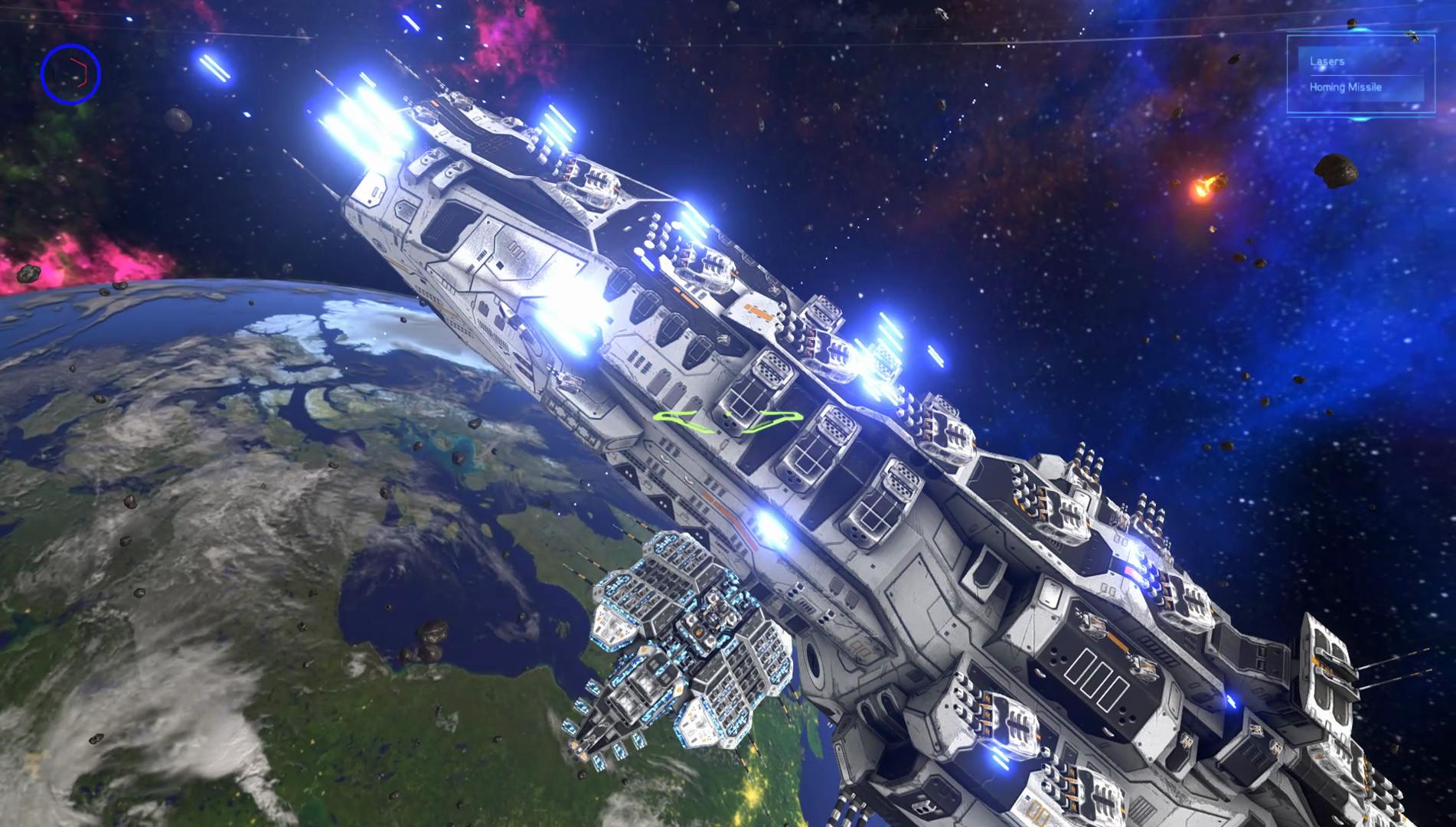 射星争夺战 游戏截图
