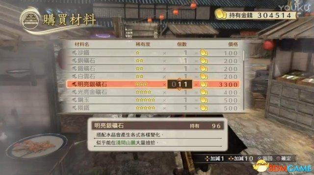 战国无双:真田丸 无限材料CE修改器
