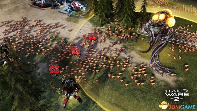 面对虫海拼死一战!《光环战争2》资料片最新截图