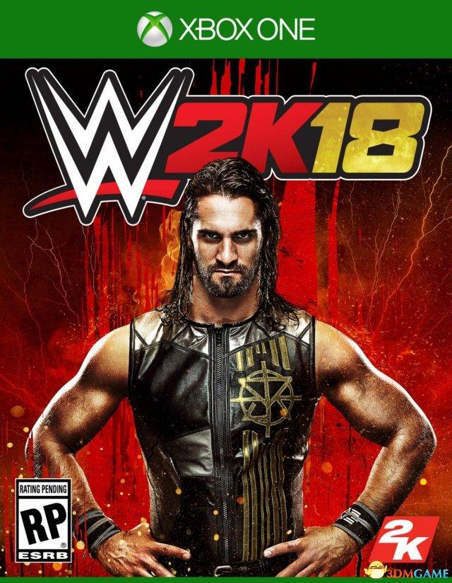 《WWE 2K18》游戏封面曝光 罗林斯加入巨星行列