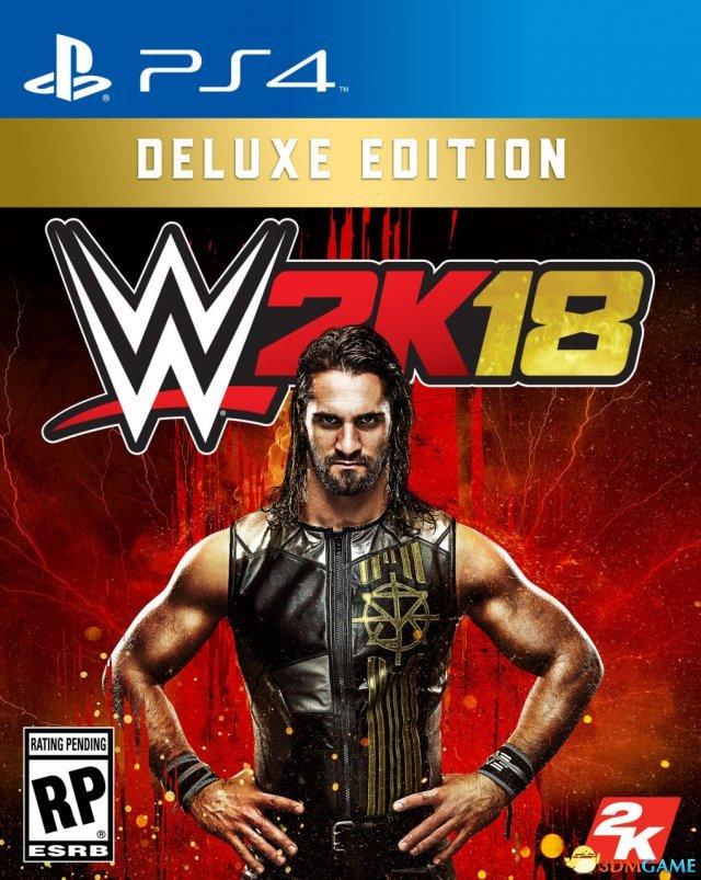 《WWE 2K18》 游戏封面曝光 罗林斯加入巨星行列