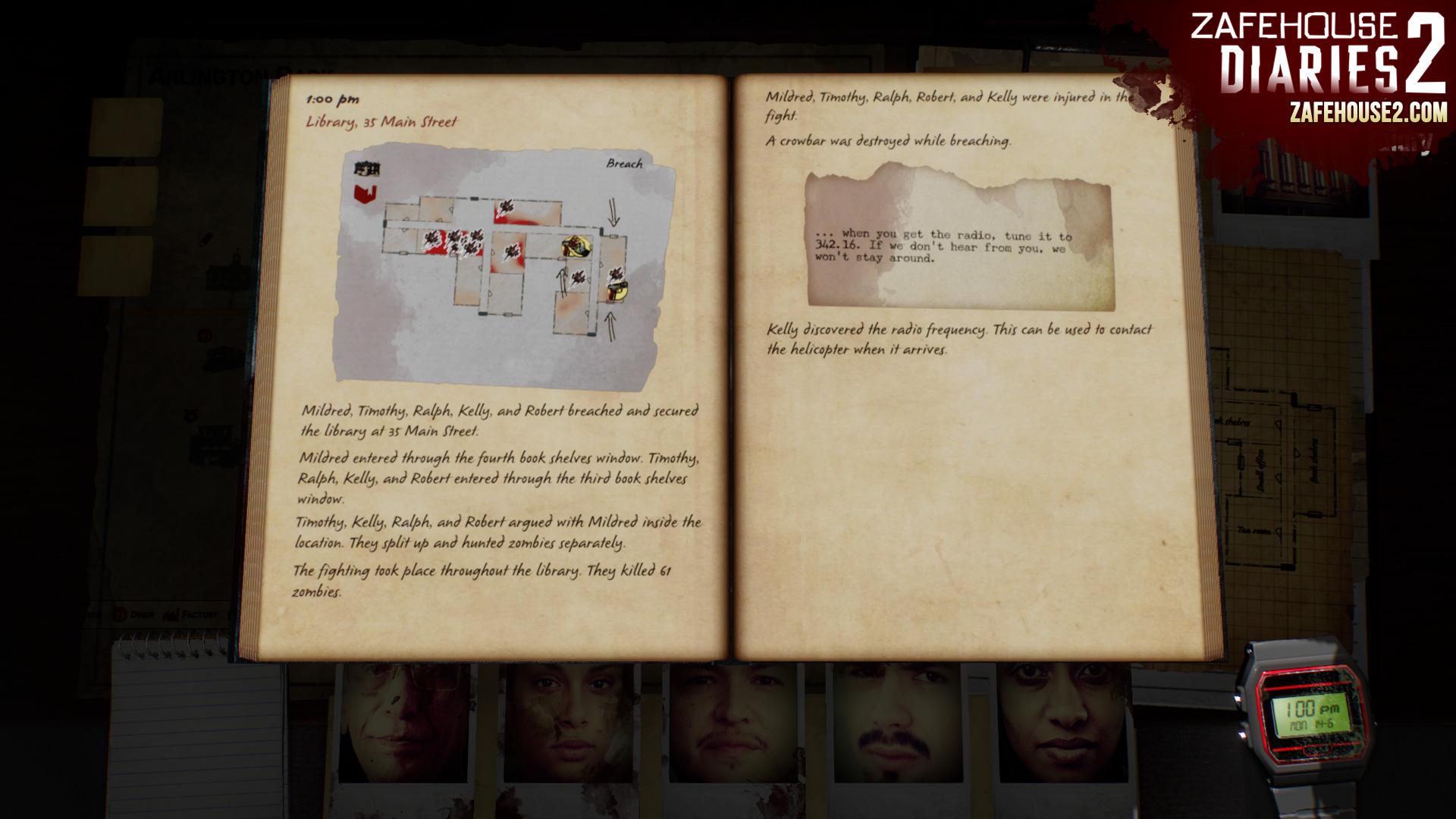 Zafe家的日记2 游戏截图