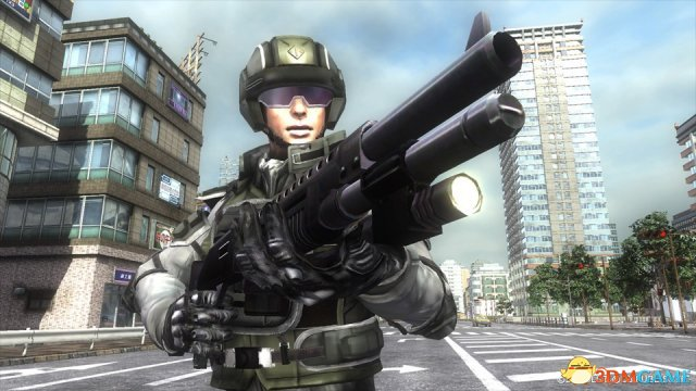 《地球防卫军5》最新截图 女性翼兵性感火辣战力强