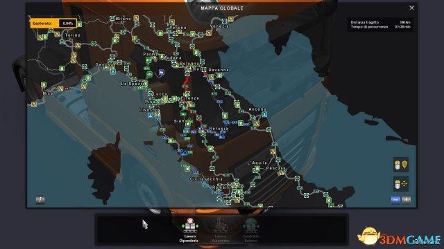 欧洲卡车模拟2 v1.27意大利地图
