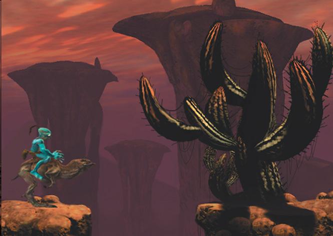 奇异世界:阿比逃亡记 游戏截图