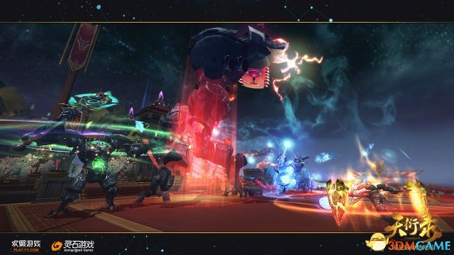 《天衍录》机甲玩法 演绎星域变形金刚
