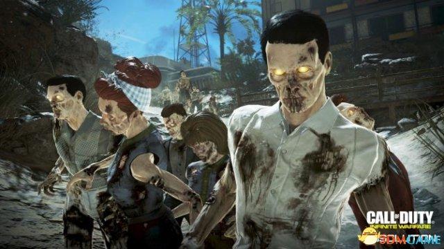 《使命召唤13》新DLC公布 和小伙伴大闹僵尸基地