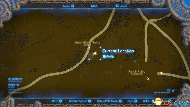 塞尔达传说荒野之息DLC全新增服装位置
