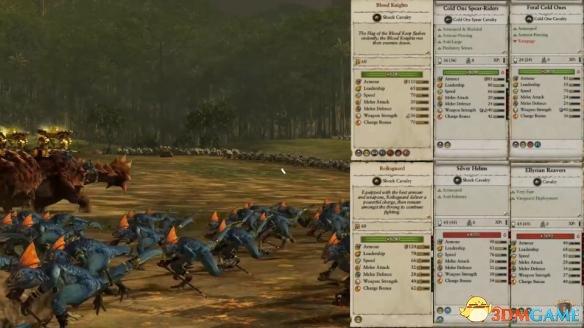 战锤全面战争2:兵种兵牌数据曝光 全战2有什么兵种