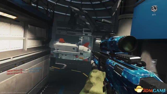 《使命召唤13:无限战争》惊现bug 狙击枪变大炮
