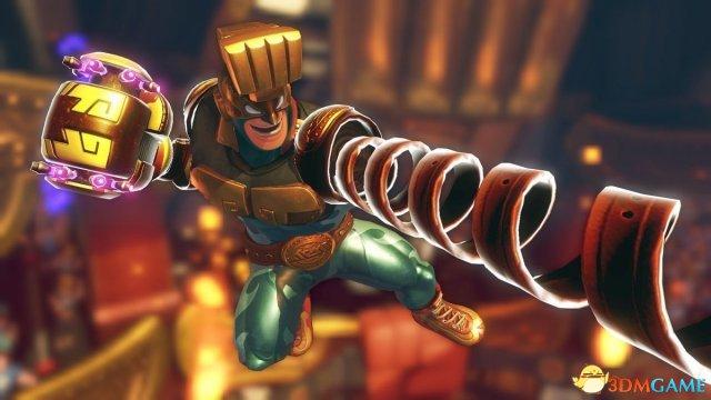 《ARMS》新DLC预告片展示新人物:Max Brass