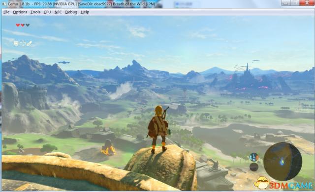 cemu  v1.8.1 WiiU模拟器