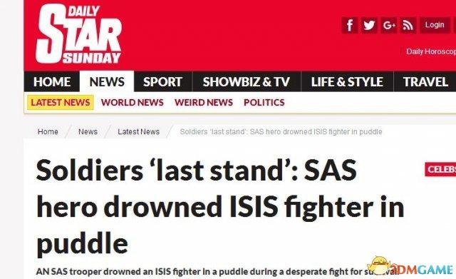 英特种部队遭IS埋伏弹尽粮绝 拼刺刀杀死32人
