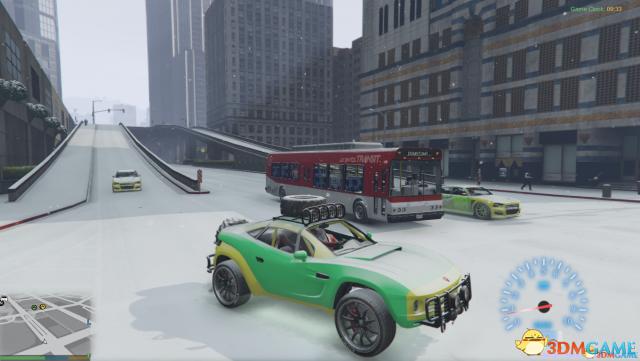 侠盗猎车5 真正的全地图雪地MOD